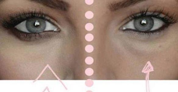 Ecco cosa succede se applichi del bicarbonato di sodio sotto gli occhi