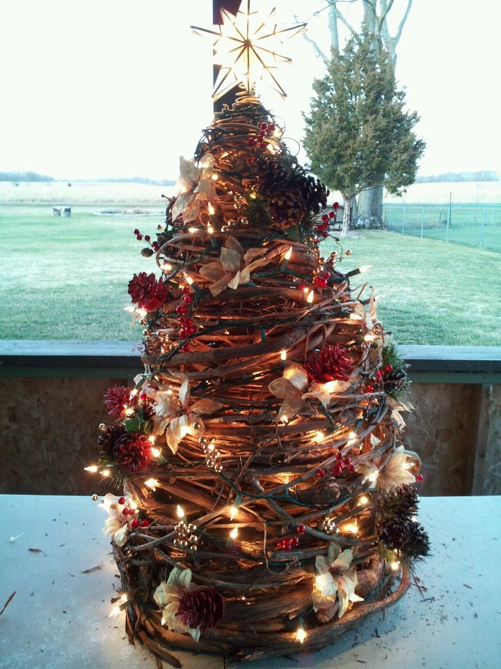 62 best Grapevine trees & things images on Pinterest | Christmas ...
