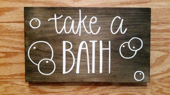 Splish Splash Take A Bath Bathroom Kids by AnchoredCreations2