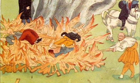حرق الساحرات