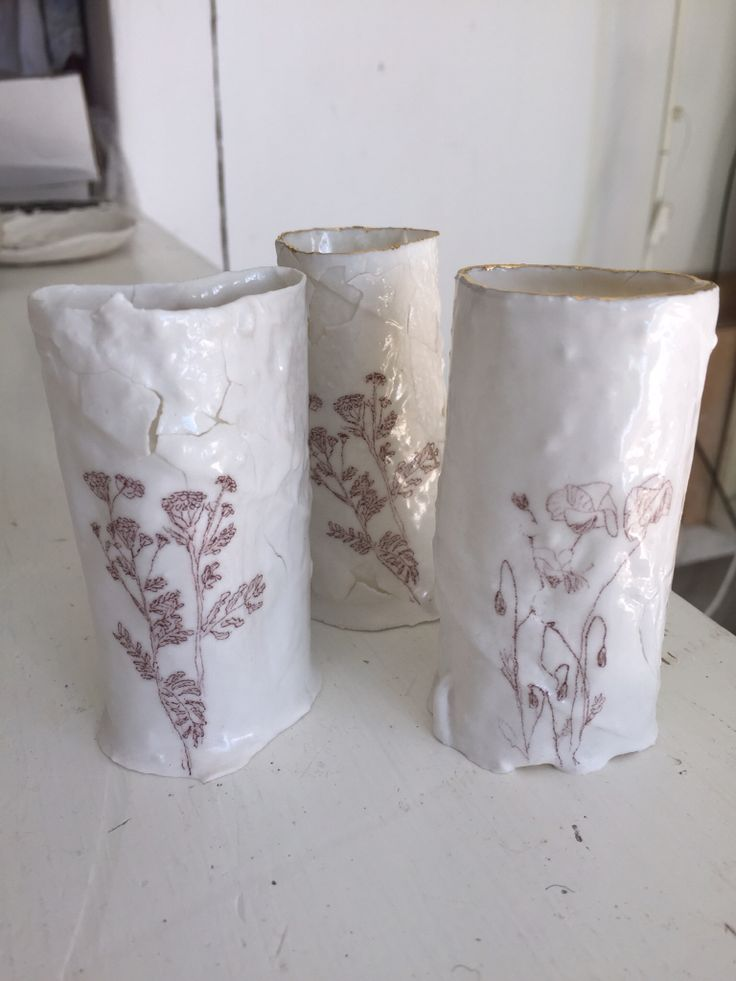 Nature Morte. Porcelain with print