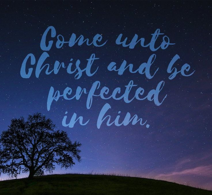 """""""Come unto Christ http://facebook.com/173301249409767, and be perfected in him, and deny yourselves of all ungodliness; and if ye shall [do this], and love God with all your might, mind and strength, then is his grace sufficient for you, that by his grace ye may be… sanctified in Christ… unto the remission of your sins, that ye become holy, without spot"""" (Moroni 10:32-33; the #BookofMormon: Another Testament of #JesusChrist). http://lds.org/scriptures/bofm/moro/10.32-33#p31 #ShareGoodness"""