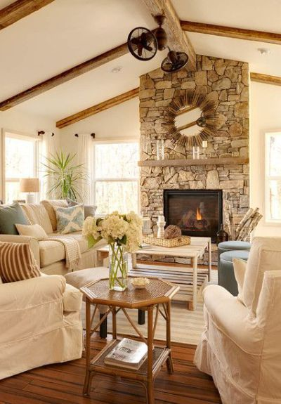 Ideas : How To Decorate A Room With A Vaulted / Cathedral Ceiling Part 69