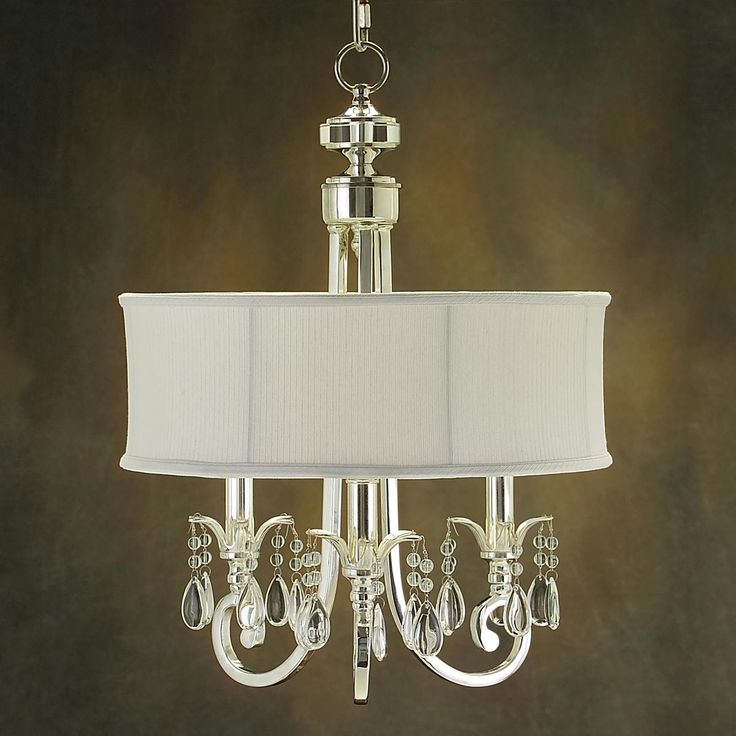 Serpentine Crystal And Shade Mini Chandelier Pendants Mini Chandelier And Master Bath
