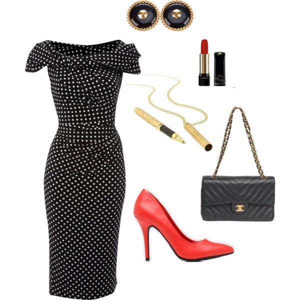 J'aime la robe et les souliers !!