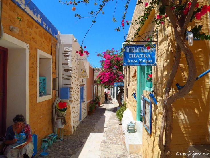Ano Syros, an authentic old village above Ermoupoli, Syros Island