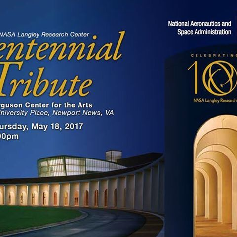 nasa_langley Save the date! Join us a month from today for our Centennial Tribute celebrating 100 years of NASA Langley excellence through an evening of music, dance, reflections and more. Special guests will include  recognized aviation and space journalist Miles O'Brien, former astronaut and Langley alumnus Leland Melvin, Nashville singer-songwriter Beth Nielsen Chapman, the Air Force Heritage of America Concert Band, local artist Karl Werne, and dancers from Radford University…