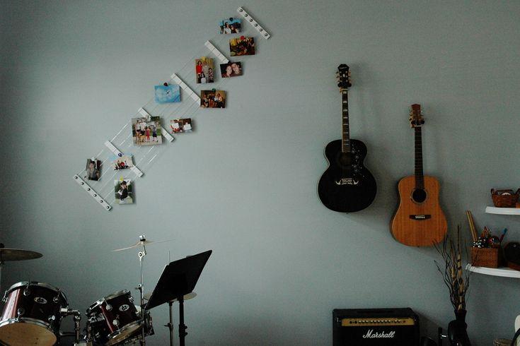 Decoration Theme Guitare : Best images about guitar decor on pinterest