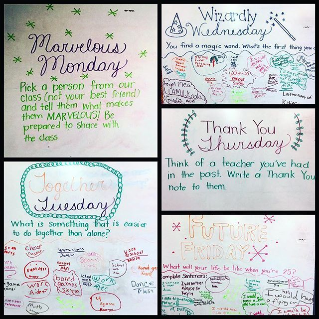 This weeks #miss5thswhiteboard  I love these ❤️