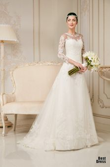 кружевные свадебные платья 2015