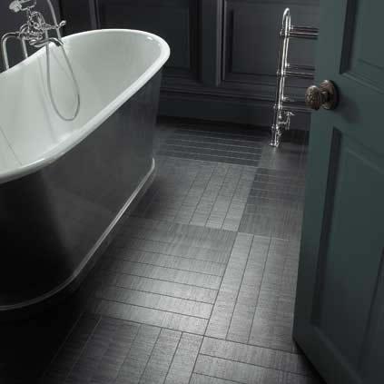 Amtico tile - back to black.