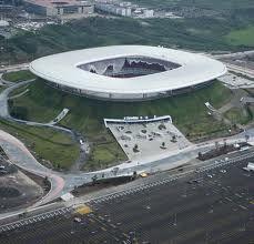 Estadio Omnilife en Guadalajara, Jalisco. Casa de las Chivas Rayadas de Guadalajara