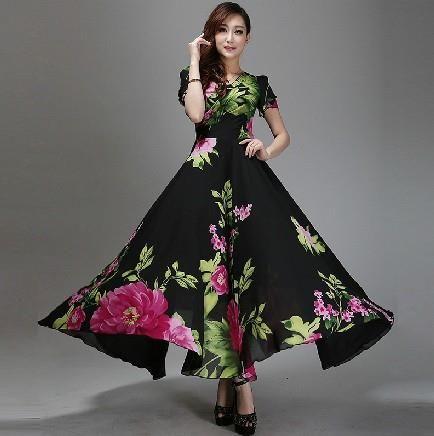 Купить макси платье большого размера