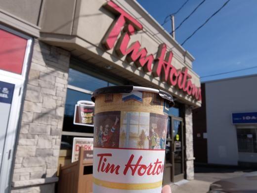 ティム ホートンズ(1211 ヒューロンタリオ通り店)