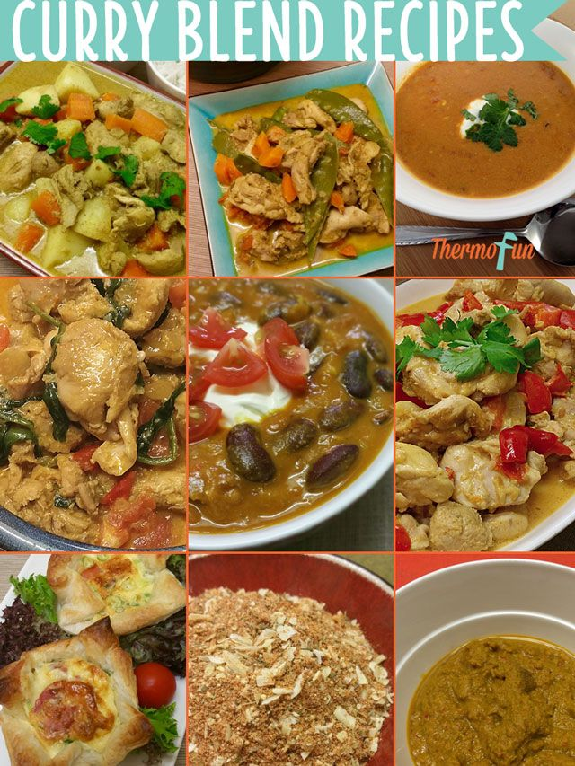 Curry Blend Recipes for your Thermomix - Want the best ThermoFun recipes that use the ThermoFun Curry Blend - Plus more great Thermomix Curry Recipes - Hea