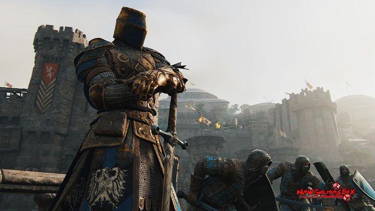 Grę tworzą dwa typy gry multiplayer oraz single  Facebook: https://www.facebook.com/For-Honor-Polska-1322196464469630/