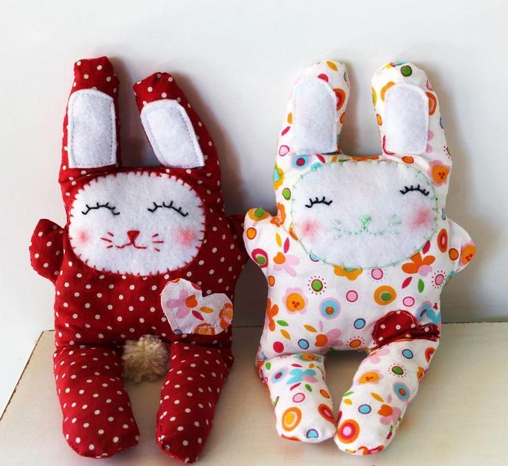 Making Easter Bunnies - Sewing tutorial