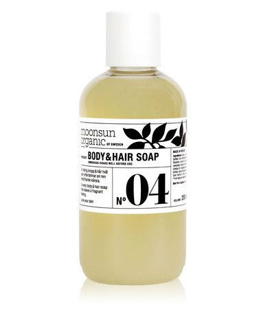 Body & Hair Soap, Moonsun Organic of Sweden hos Hello Period!