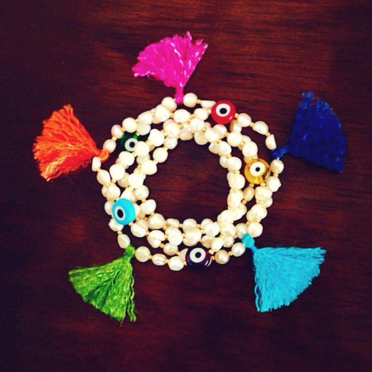Colorea tus dias! #bracelets #pearls #fashion