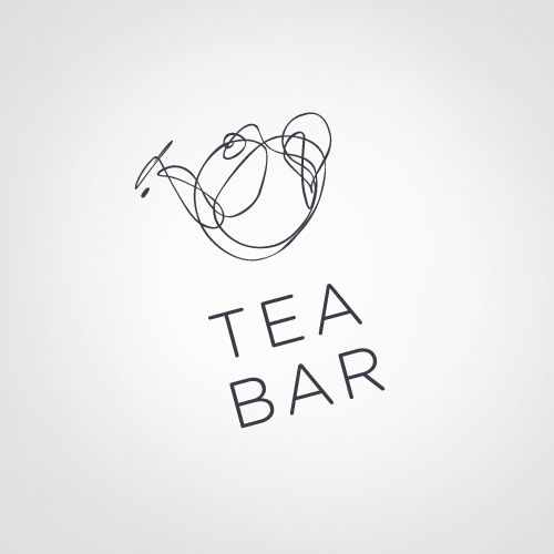 logo / tea bar... www.RenoWebDesigner.com    Logo Design, Shop Logo Positive Review!  http://www.etsy.com/shop/BannerSetDesigns?section_id=14092564  Sandy Rowley Etsy Graphic Designer  #etsy #etsy logo #esty webdesign
