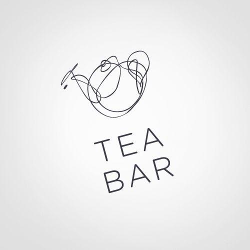logo / tea bar...
