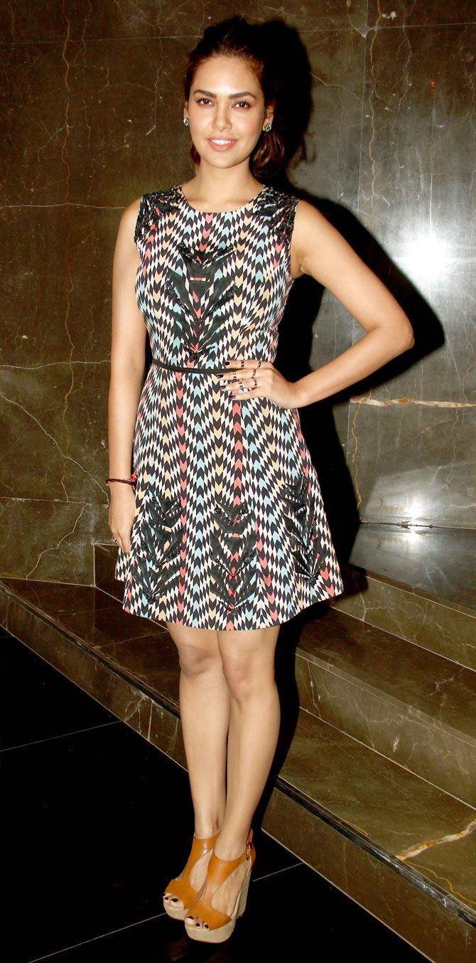 Esha Gupta at the special screening of 'Baby'. #Bollywood #Fashion #Style #Beauty