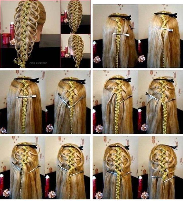 DIY Delicate Five Strand Braid Hairstyle | iCreativeIdeas.com Follow Us on Facebook ==> www.facebook.com/iCreativeIdeas