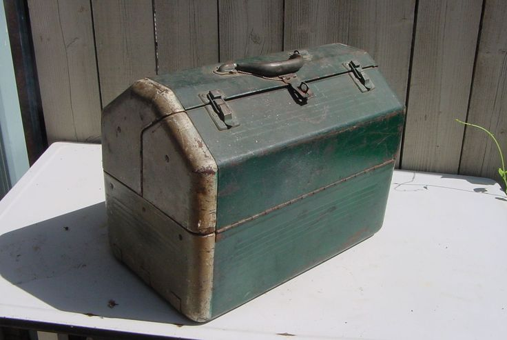 Us Air Force Mechanics Tool Box Vintage 1940 S 50 S