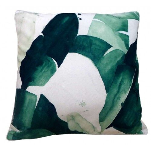 Outdoor Cushion - Banana Leaves