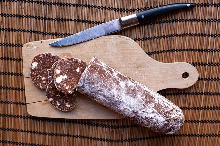 Saucisson au chocolat au Thermomix - Cookomix