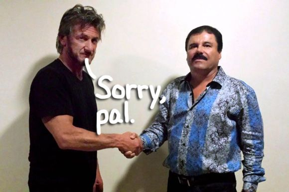 El Chapo's Extradition To The United States Has Been Approved — Maybe Sean Penn Can Have A Reunion… by Perez Hilton  #Controversy, #Crazzzzy, #DrugDealer, #Drugs, #ElChapo, #Entertainment, #Extradition, #JoaquinGuzman, #Kingpin, #LegalMatters, #News, #Politik, #Scary, #SeanPenn, #SinaloaCartel, #ViralNews