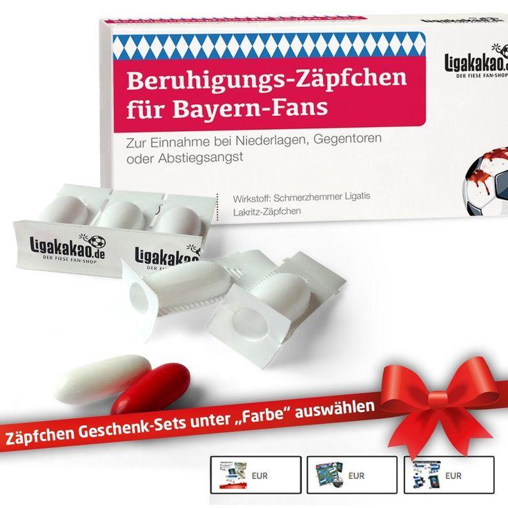 Werbung Beruhigungs Zäpfchen Für Bayern Fans Geschenk Sets