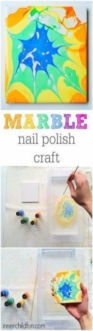 #Crafts #DIY #Ideas #Nail #Polish #Zomer