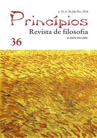 Princípios: revista de Filosofia (UFRN), v. 21, n. 36, jul.-dez. 2014