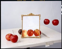 John Chervinsky, 'Apples, Painting on Door,' 2011, Pictura Gallery