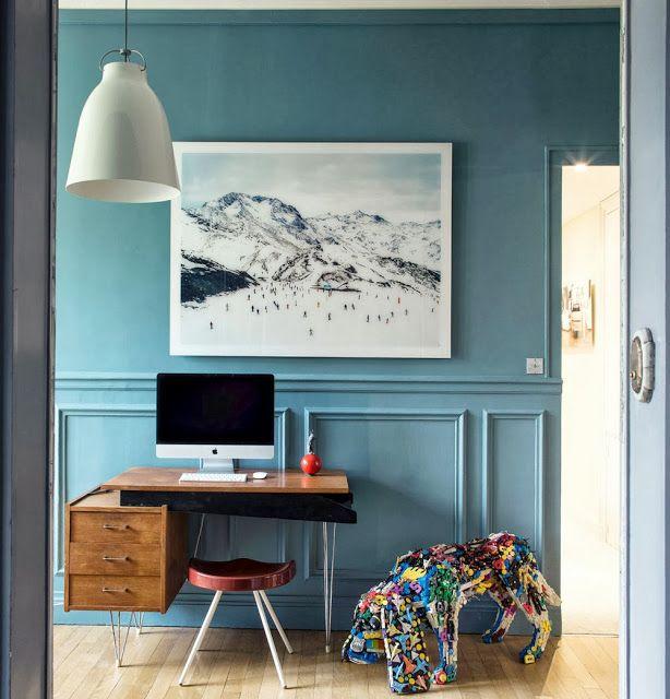 A Colourful Home in Paris
