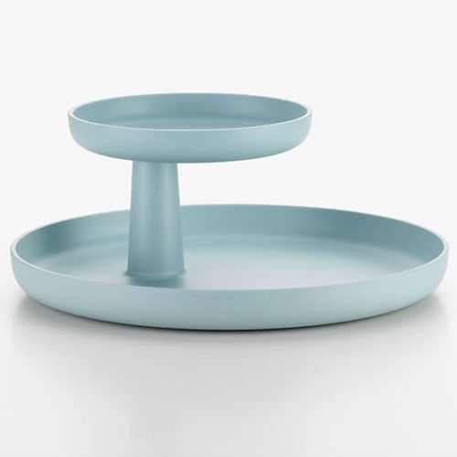Rotary Tray by Jasper Morrison for Vitra in Dove Blue.