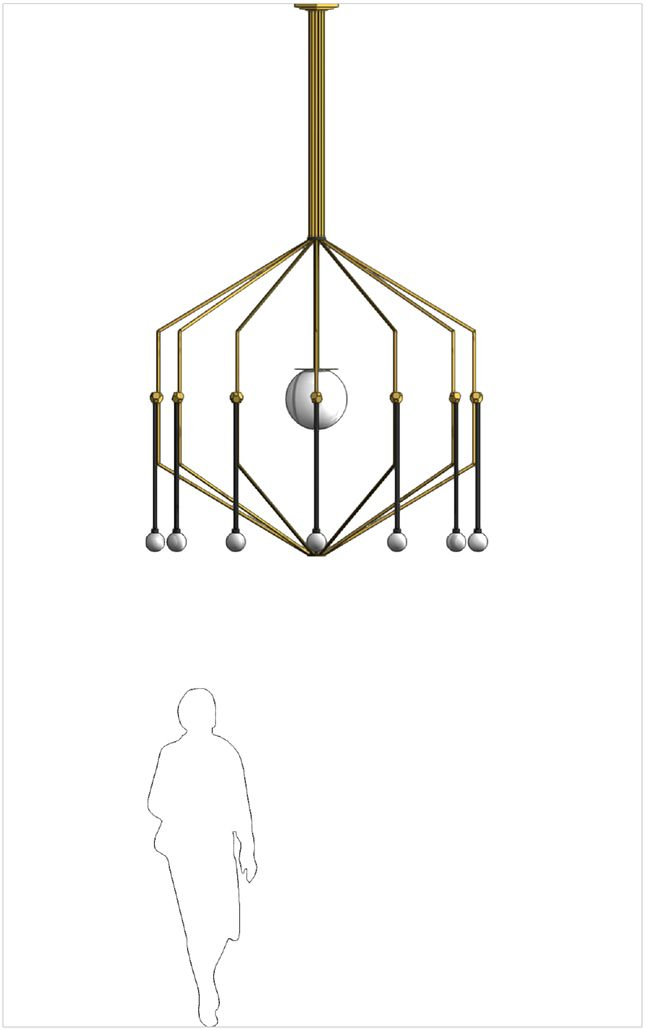 Chandelier creation by ©Studio Homewerk www.homewerkberlin.com