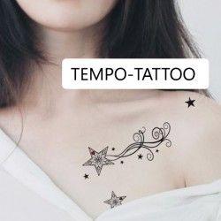 Tatouage-temporaire-étoile-filante