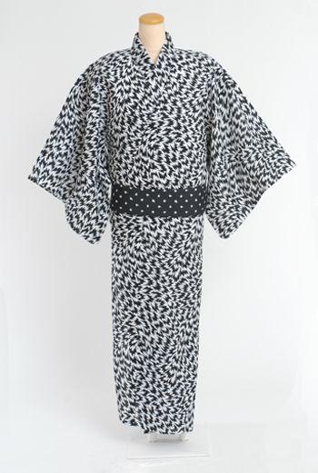 MEN'S YUKATA & OBI  ELEY KISHIMOTO COLLABORATION WITH KIMONO BREATH £285.00 #kimono