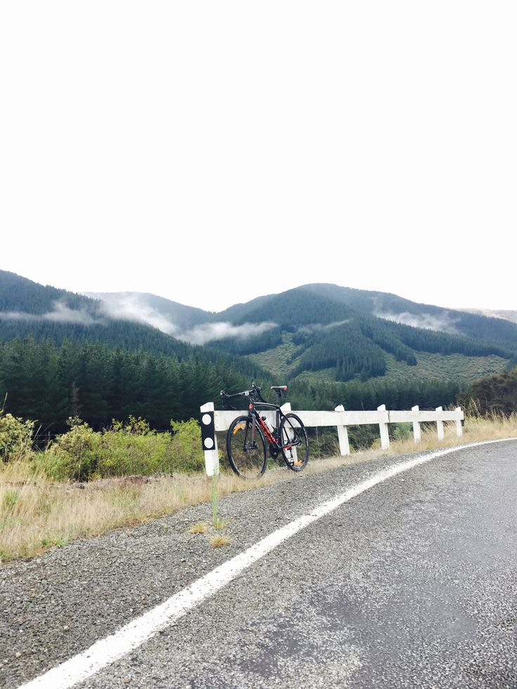 Break after 50km, with local vegan power snacks and the best view in the world 🌎 🇳🇿🚴 #ironmantraining #roadcycling #vegan #workout 😮