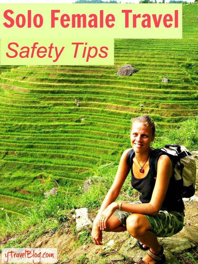 Tips for solo female travel: http://www.ytravelblog.com/travel-podcast-solo-female-travel-safety-tips/