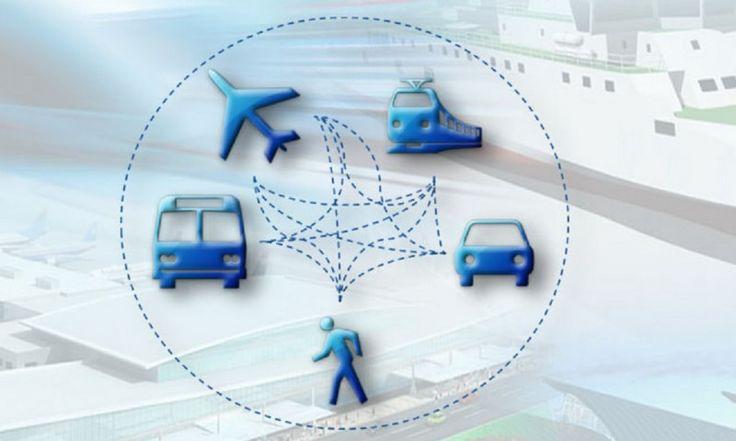 Transportul multimodal, a călători din uşă în uşă fără întreruperi (Imagine logo de All Ways Travelling).