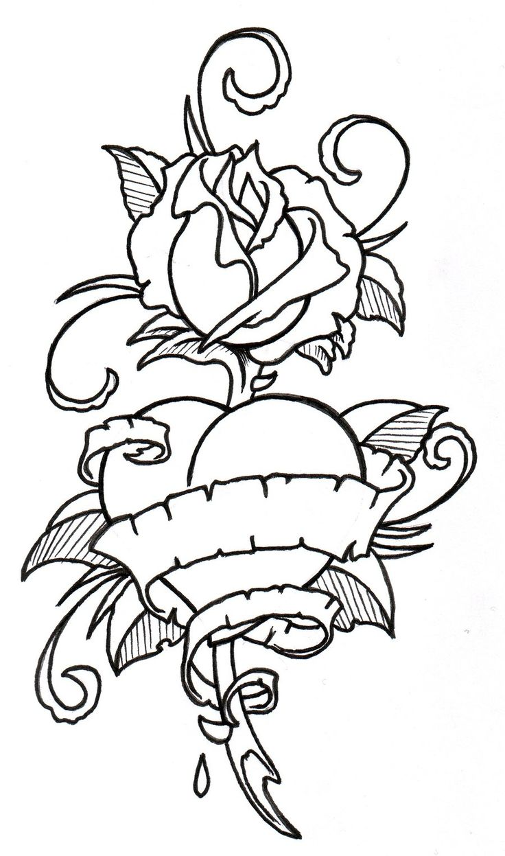 Printable coloring pages roses - Find This Pin And More On Roses To Color By Margiternstsen3