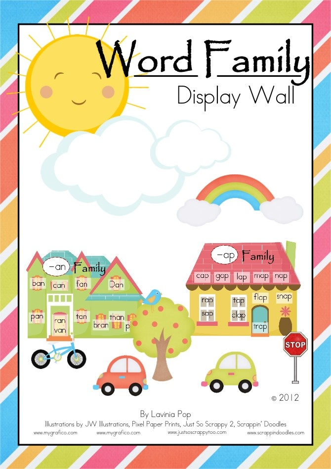 bulletin board template word - 17 best images about phonics on pinterest bingo