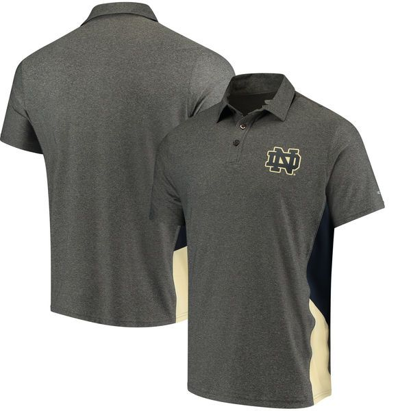 Notre Dame Fighting Irish Colosseum The Bro Polo - Charcoal - $44.99