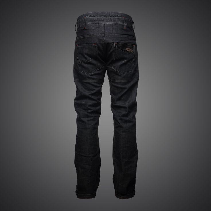 4SR kevlar motorcycle jeans Cool Black