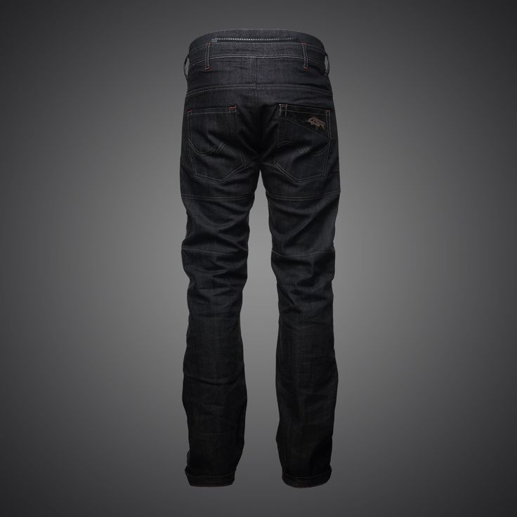 4SR kevlar motorcycle jeans Cool Black
