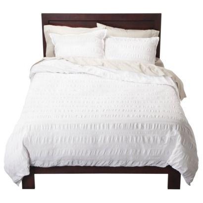 modern master bedroom with threshold seersucker duvet cover set | 8 best Seersucker Duvet Cover images on Pinterest ...