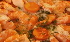 Receita de Açorda de Marisco à Beira-Mar  Para os apreciadores de Açorda de Marisco, esta receita torna-se simples de fazer e é uma delicia!  Receita completa em http://www.receitasja.com/acorda-de-marisco/